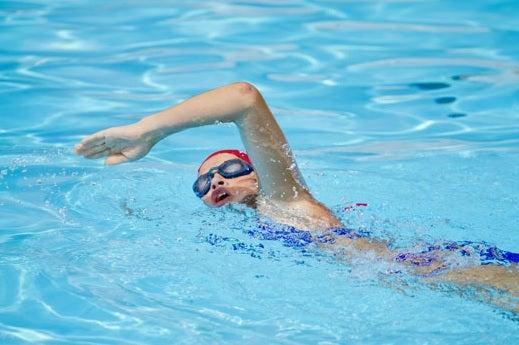 Как оставаться в форме пловцам