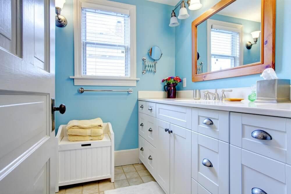 Дизайн ванной комнаты и стены