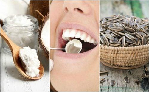 Как устранить зубной налёт с помощью 6 натуральных средств