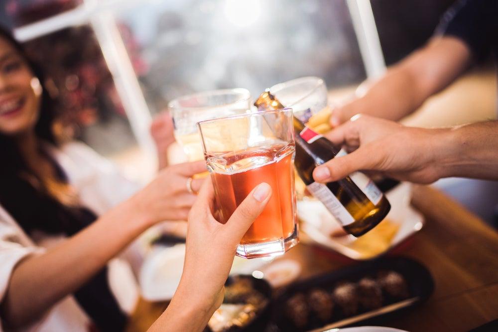 Занятия спортом и алкоголь