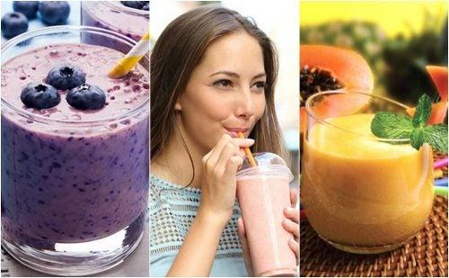 Смузи на завтрак: 5 самых вкусных вариантов
