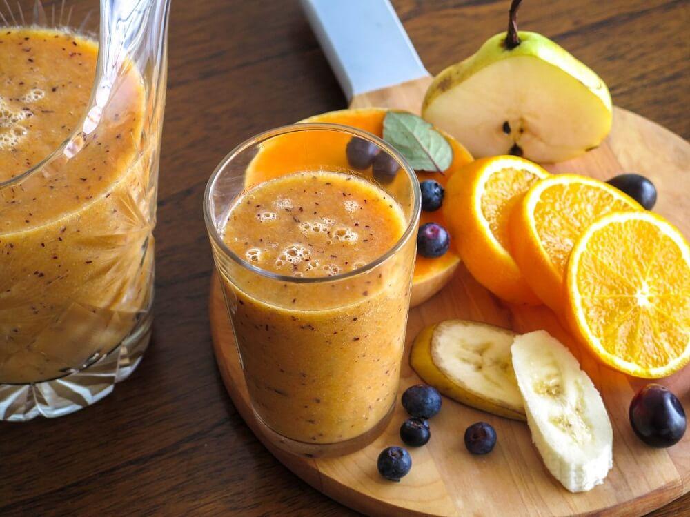Улучшить кровообращение с помощью коктейля из апельсина