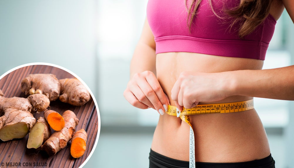 Напиток из имбиря и куркумы, чтобы ускорить метаболизм и похудеть!