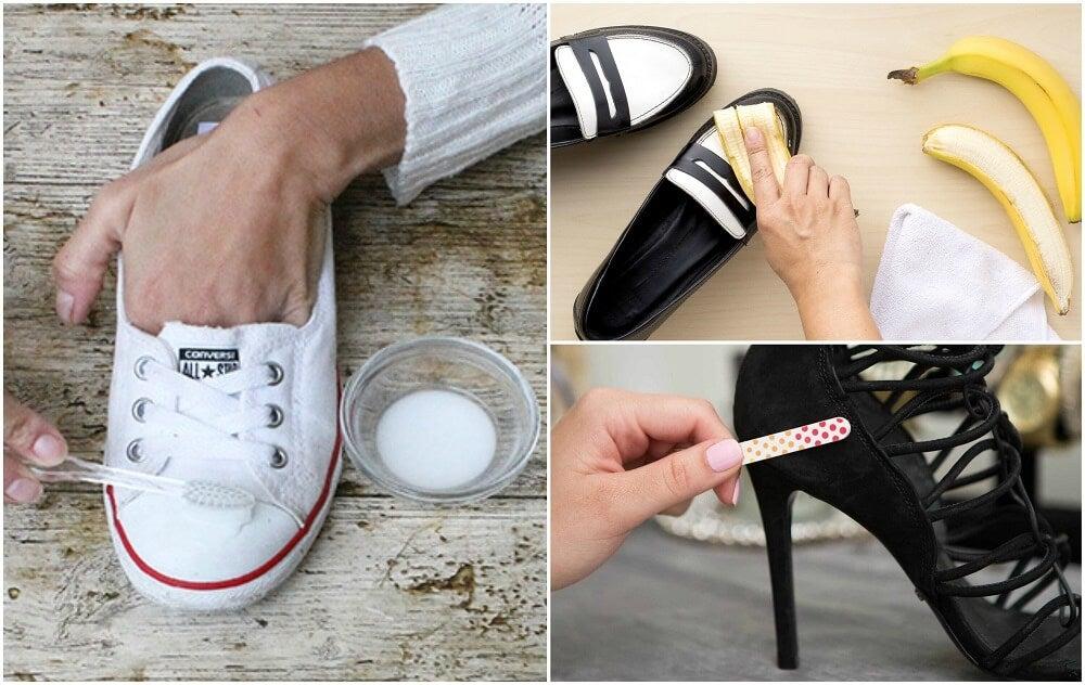 10 интересных трюков, чтобы ваша обувь стала как новая!
