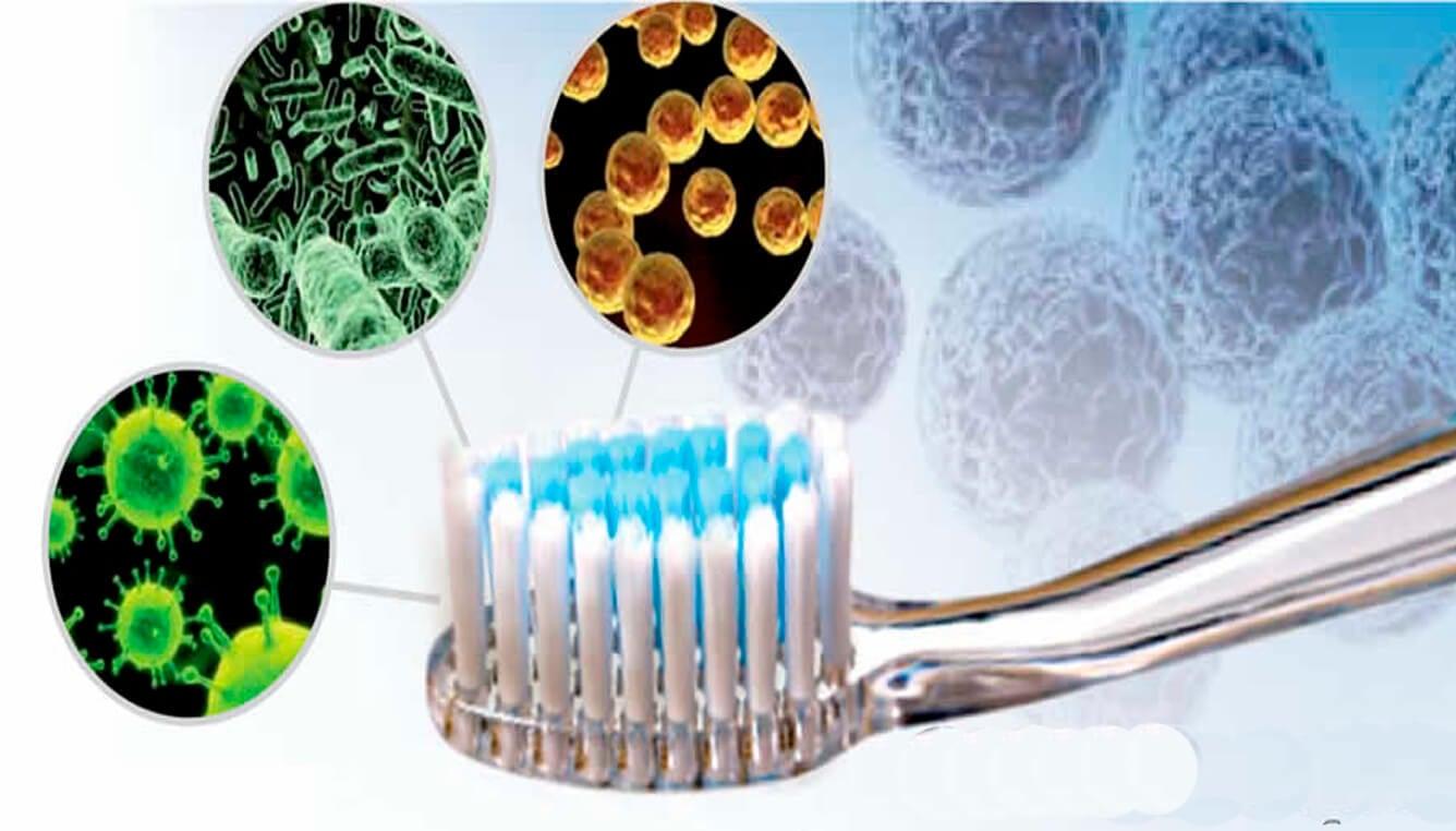 Перекись водорода и зубные щетки