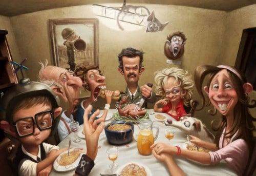 Токсичные семьи и их причины