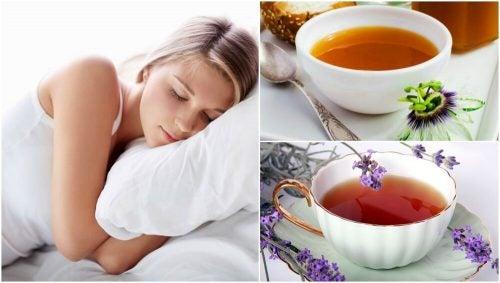 5 травяных чаев, чтобы лучше спать