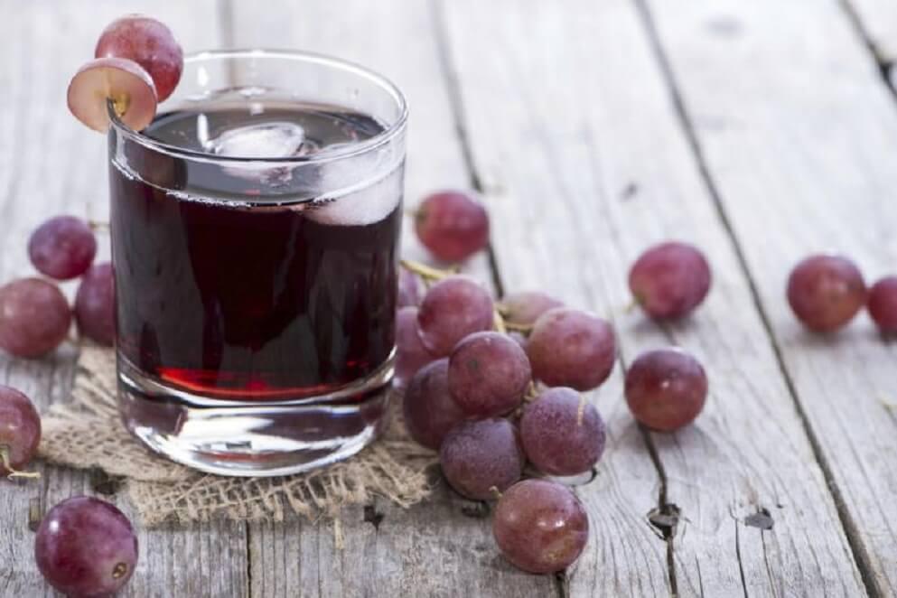 Виноградный сок полезен при анемии