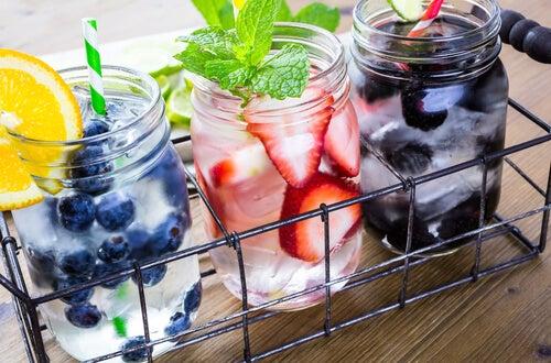 Пить больше воды со вкусом
