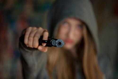 Девочка психопат