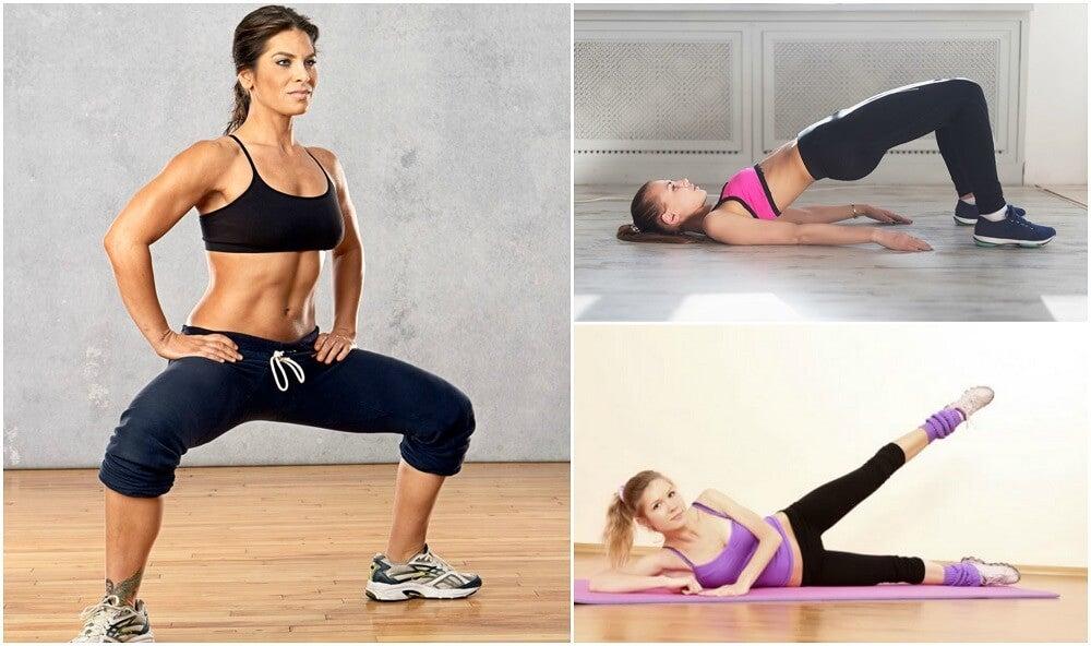 5 упражнений для укрепления бедер