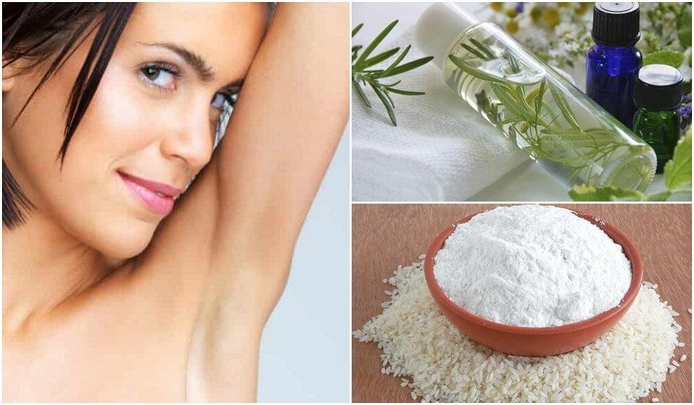Неприятный запах подмышек? 5 натуральных решений для его устранения!
