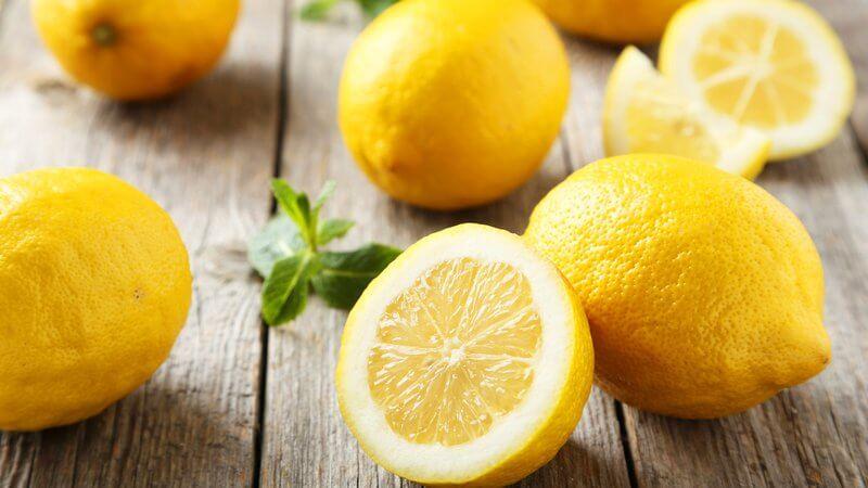 Лимоны очистят организм