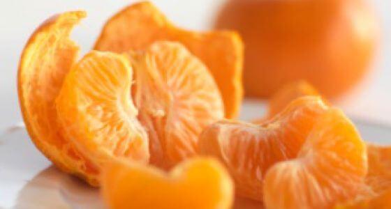 Мандарины содержат витамин С