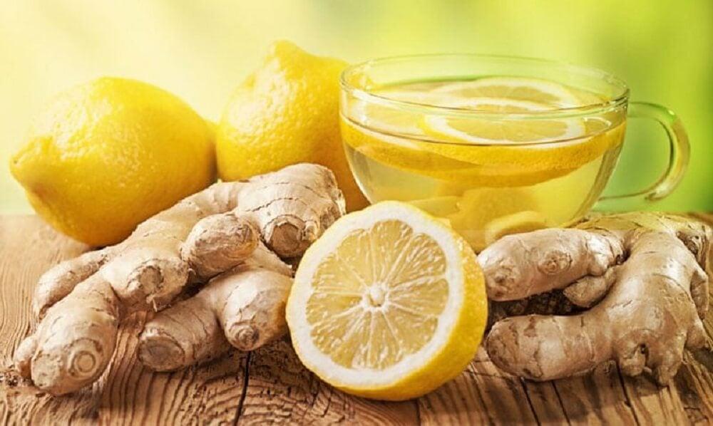 Чай из имбиря и лимона поможет очищать печень во время сна