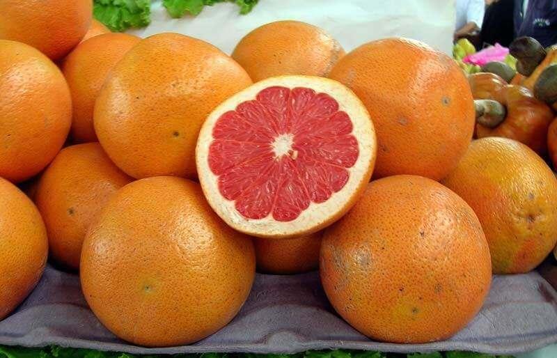 Грейпфруты очистят организм
