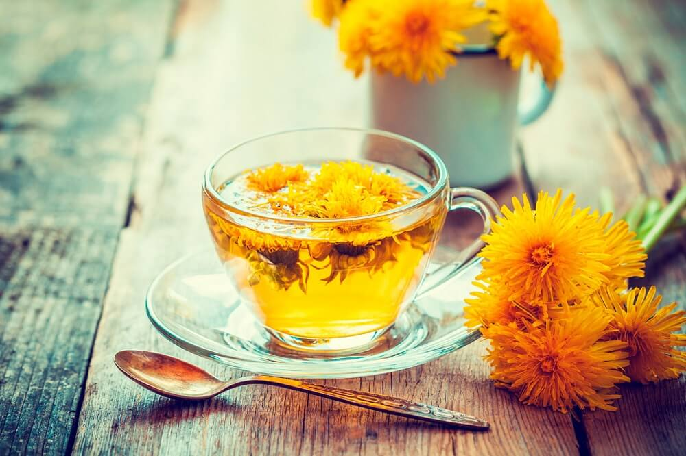 Чай из одуванчика и уровень мочевой кислоты