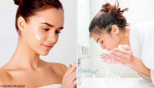 5 ошибок, которые мы совершаем, очищая кожу лица