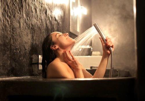 Горячий душ и мышцы