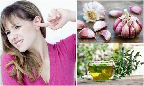 5 натуральных средств помогут избавиться от звона в ушах