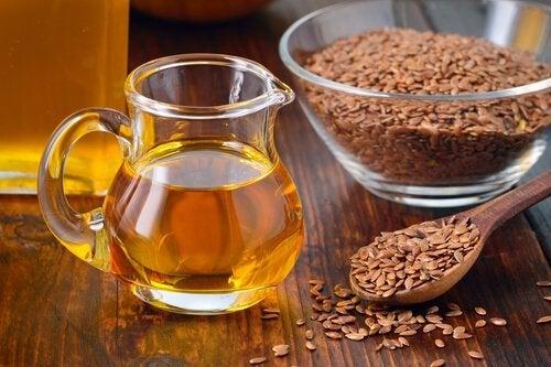 Льняное масло и натуральные масла