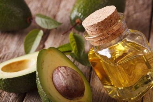 Масло авокадо и натуральные масла