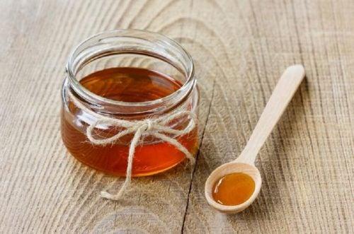 Мед и маски для лица