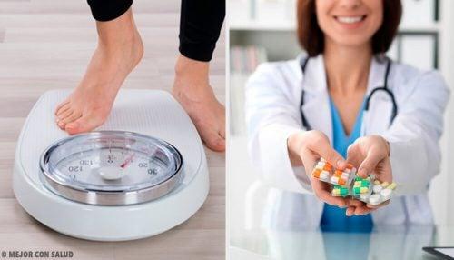 От каких лекарств можно поправиться?