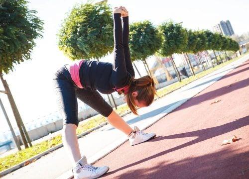 Растяжка снимет спазм мышц