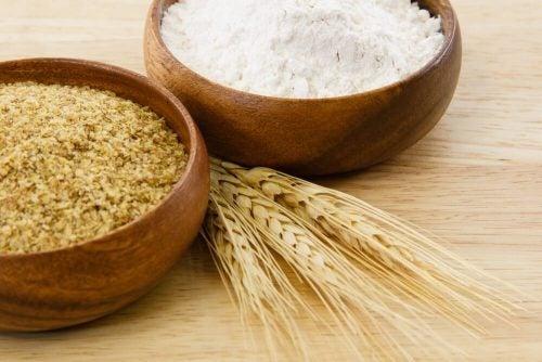 Зародыши пшеницы и маска