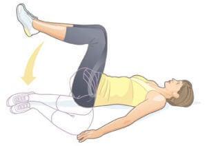 """Упражнение """"повороты ногами"""""""