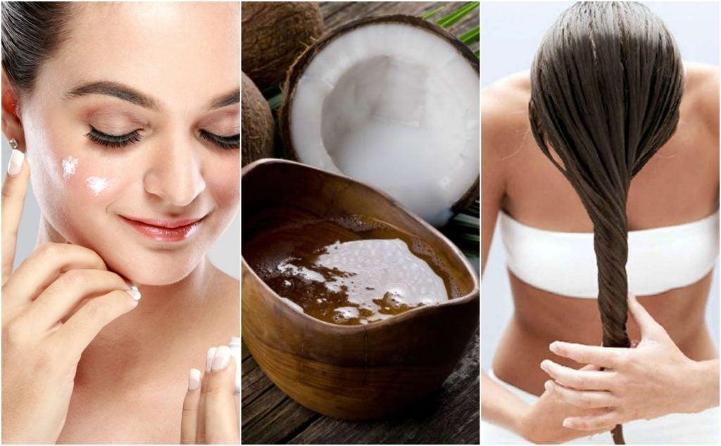 Кокосовое масло: откройте для себя 5 натуральных рецептов красоты