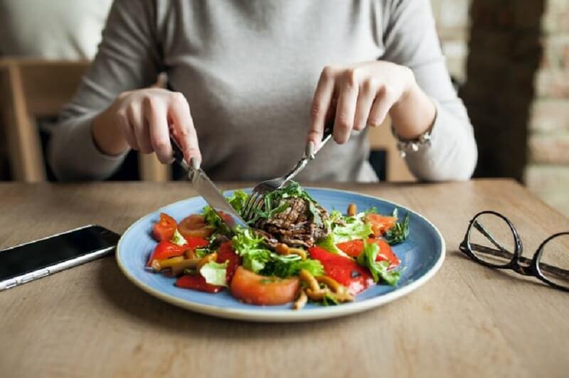 Набрать мышечную массу и салат