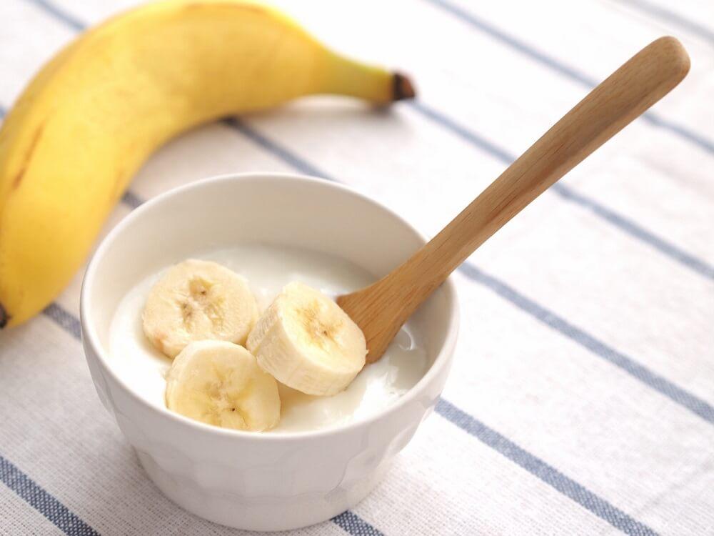 Псориаз на коже головы и банан