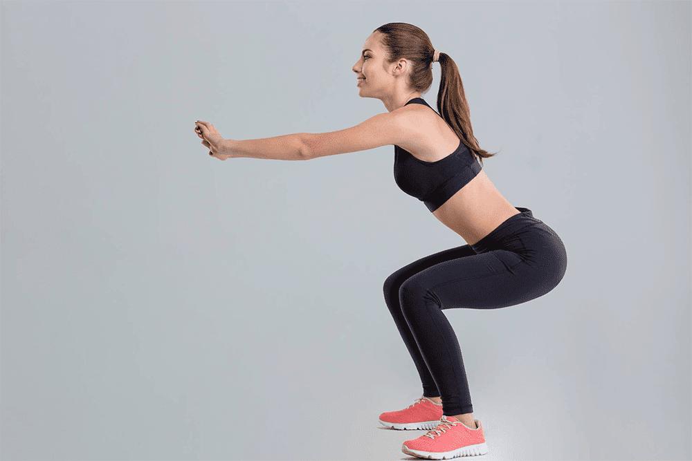 Приседания помогут преобразить ваше тело