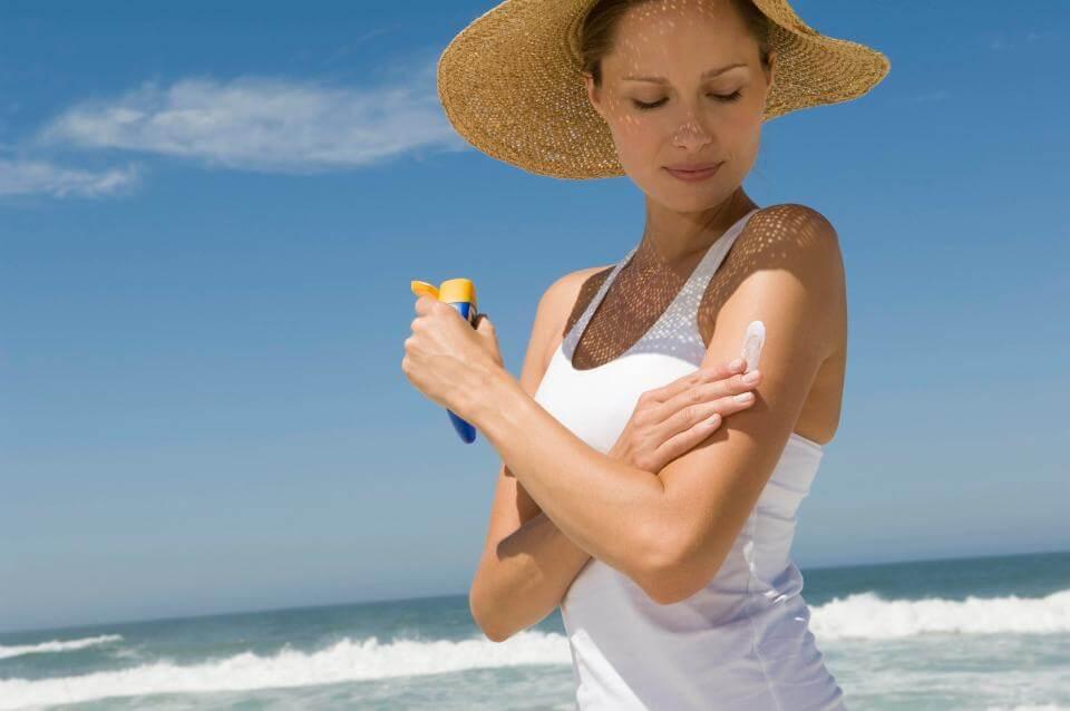 Стать моложе с защитой от солнца