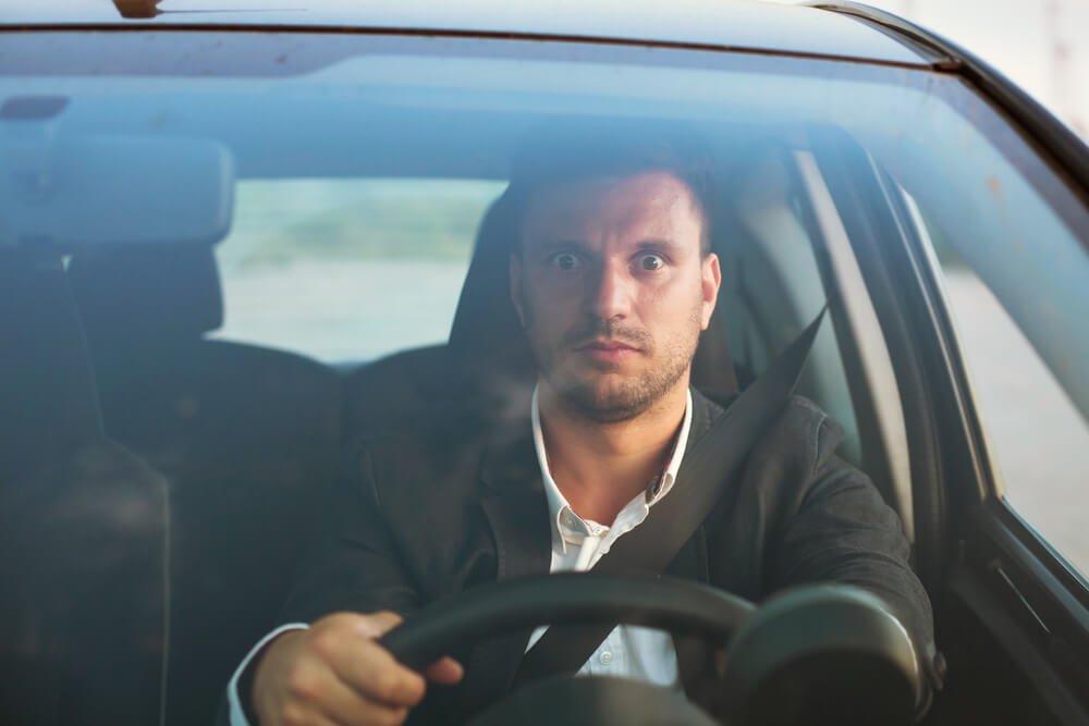 Страх водить машину