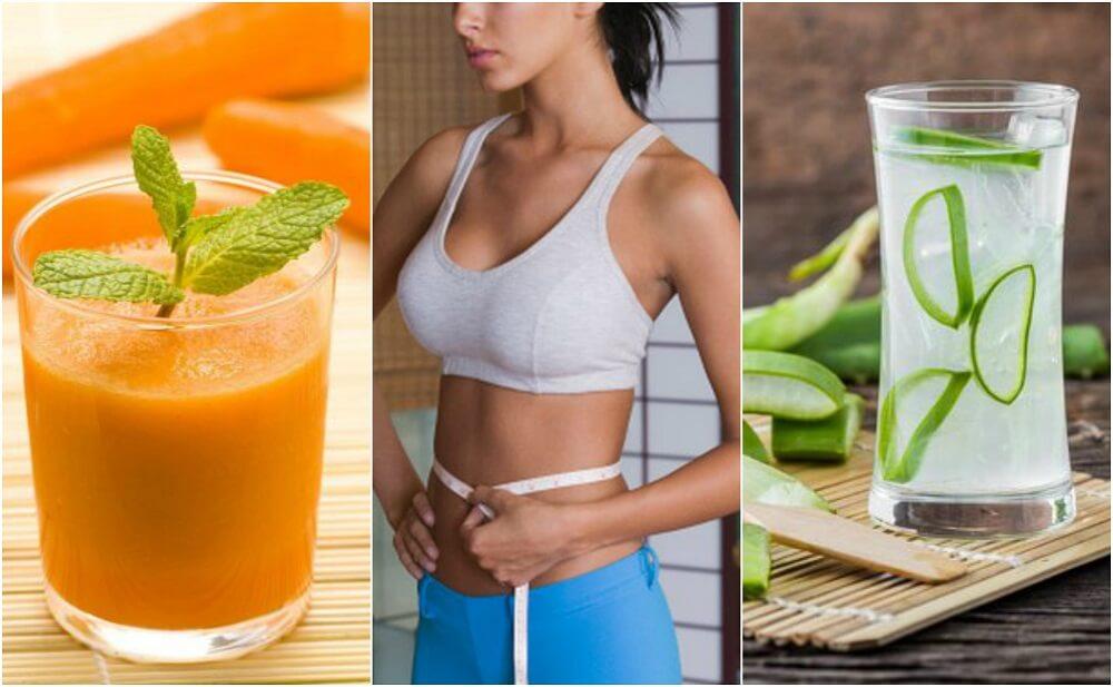 5 напитков, которые помогут уменьшить объем живота!