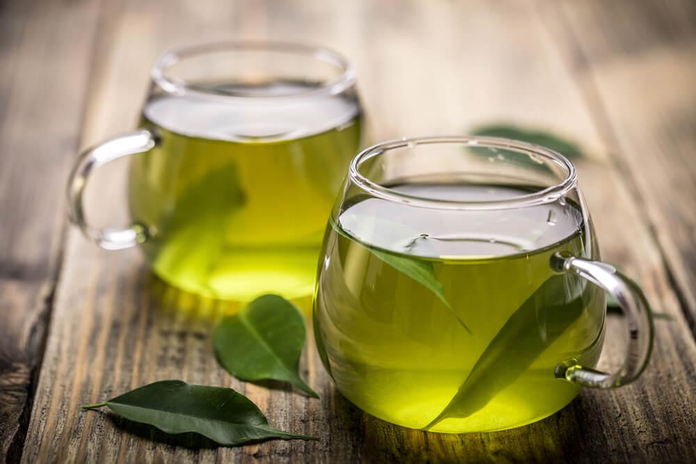 Задержка жидкости и зеленый чай