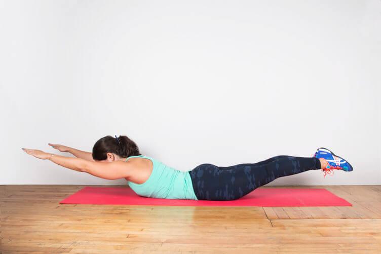 Здоровая спина и растяжка поясницы
