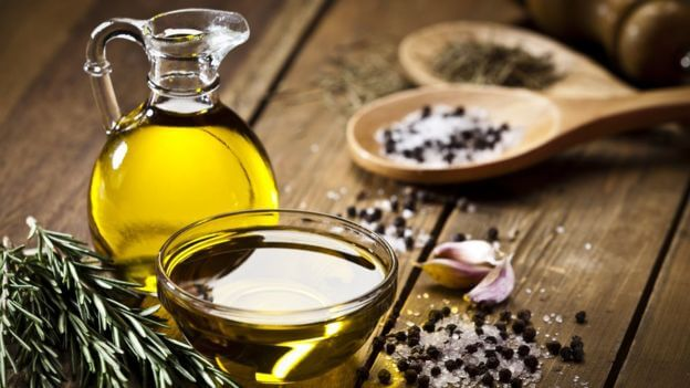 Здоровая кожа и оливковое масло