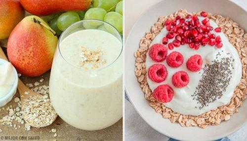 4 завтрака с овсянкой, которые помогут ускорить метаболизм