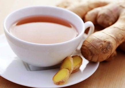Имбирный чай и кашель у детей