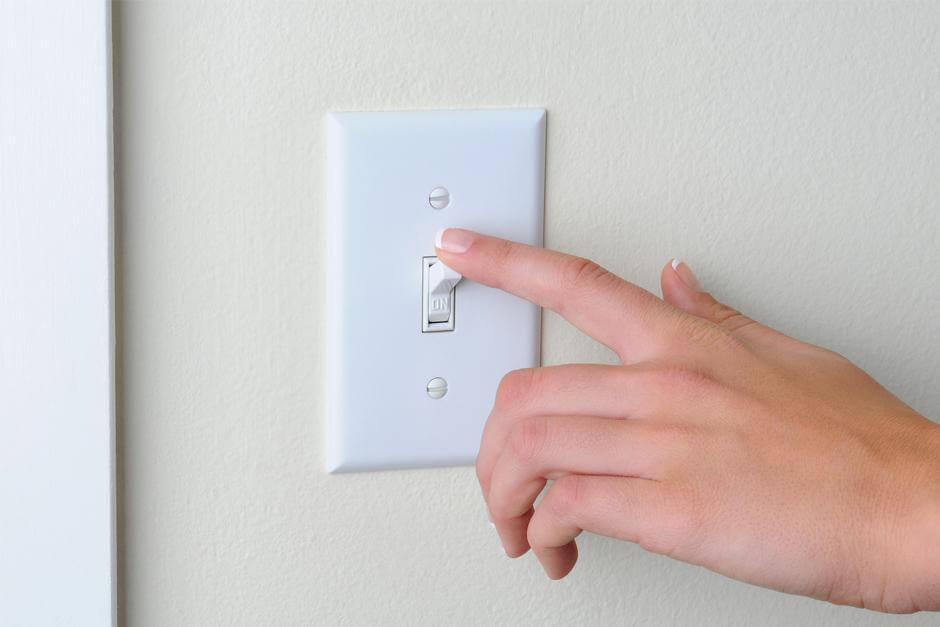 Чистый дом и выключатели