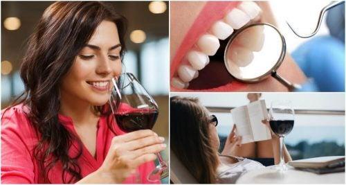 Красное вино в небольших количествах полезно: 8 доводов