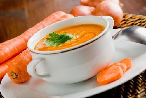 Морковный суп выводит токсины
