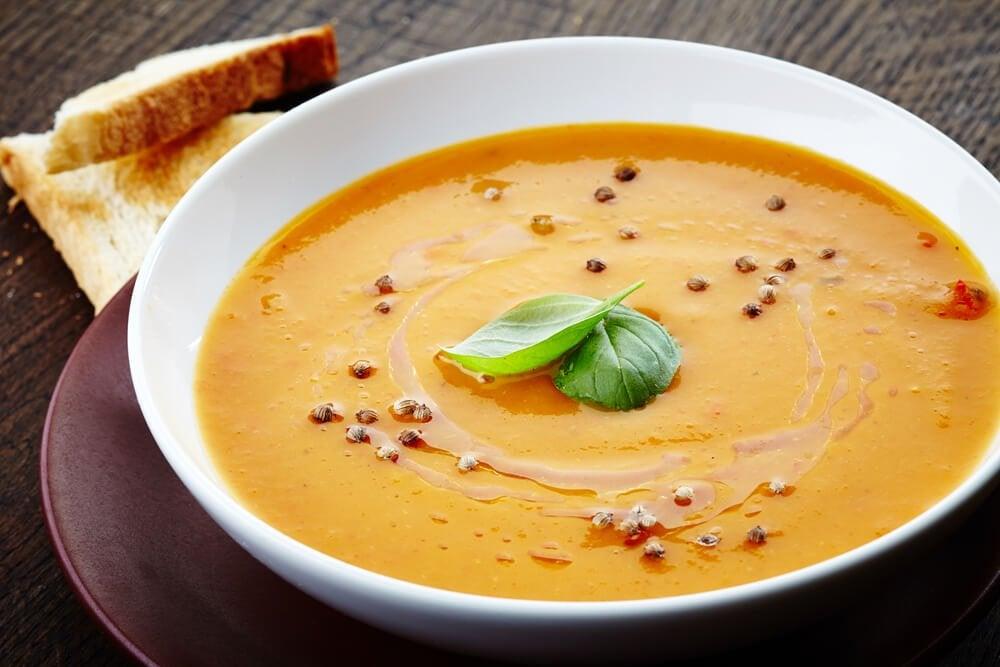 Крем суп на ужин чтобы похудеть без чувства голода