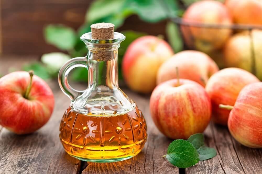 Яблочный уксус поможет убрать бородавки