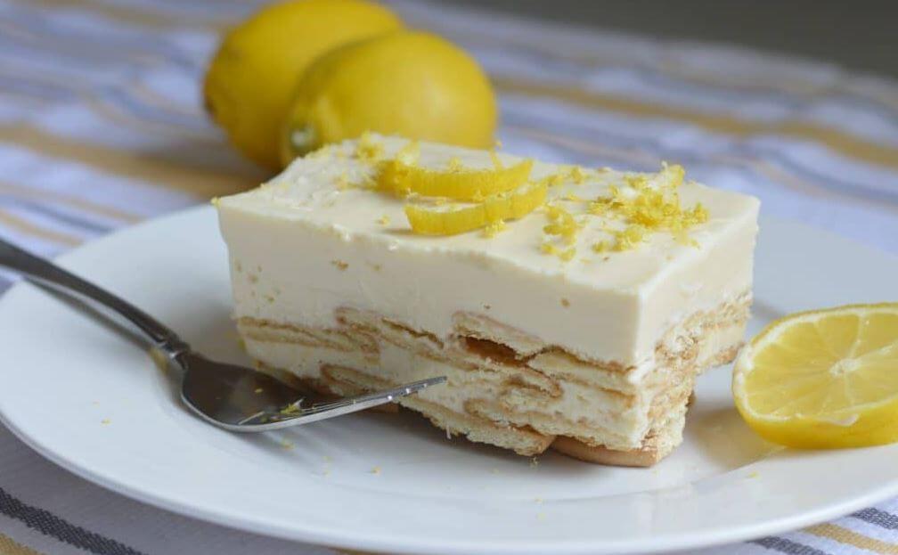Лимонная карлота: королевский десерт