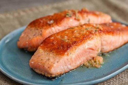 Жирная рыба и мышцы